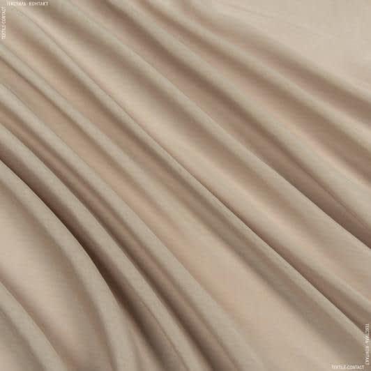 Тканини гардинні тканини - Тюль батист морела бежевий