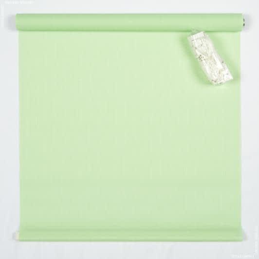 Тканини ролети - Роллет міні фактурний м'ятний 42.5х150