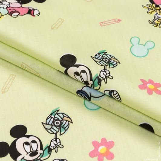Ткани для детского постельного белья - Бязь  набивная  RENFORCE HT