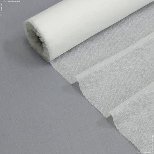 Ткани дублирин, флизелин - Флизелин клеевой белый 37г/м