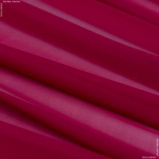 Ткани для платков и бандан - Шифон натуральный темно-вишневый