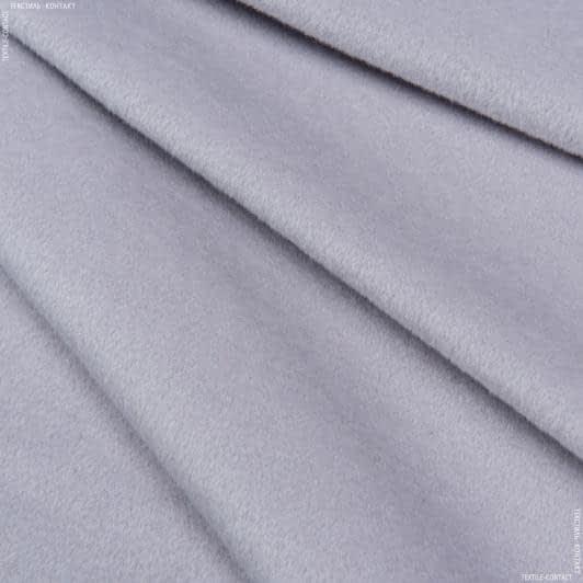 Ткани для верхней одежды - Пальтовая ворсовая светло-серый