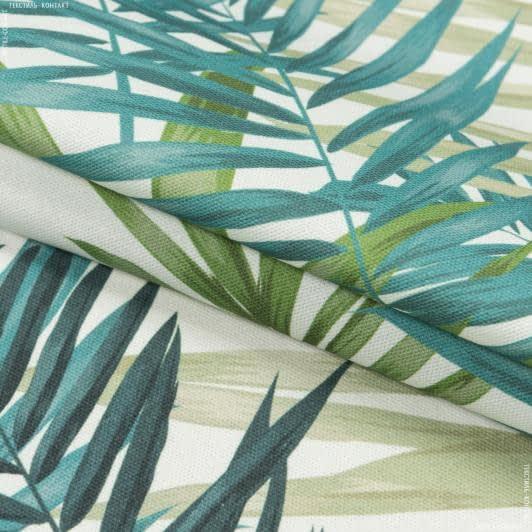 Ткани портьерные ткани - Декоративная ткань листья пальмы зеленый