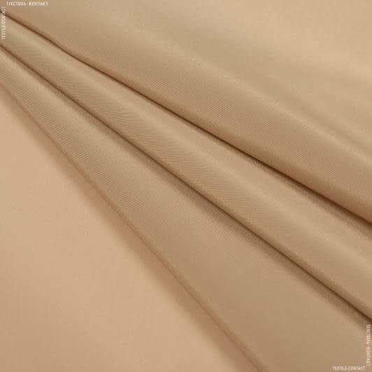 Тканини для хусток та бандан - Креп кошибо бежевий