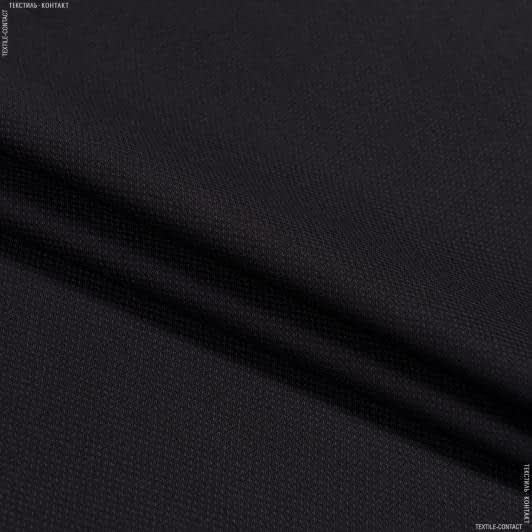 Тканини для костюмів - Костюмна піке темно-бордовий