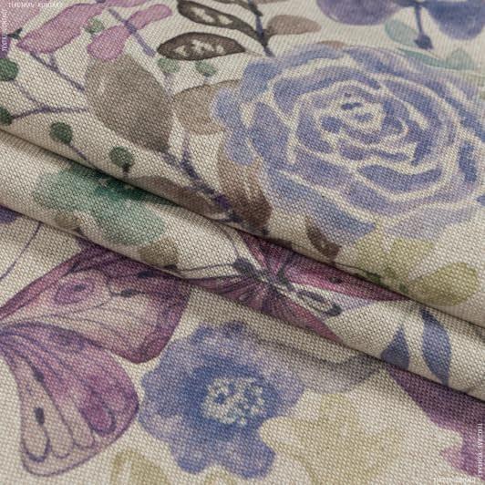 Ткани портьерные ткани - Декоративная ткань  кулла бабочки сирень
