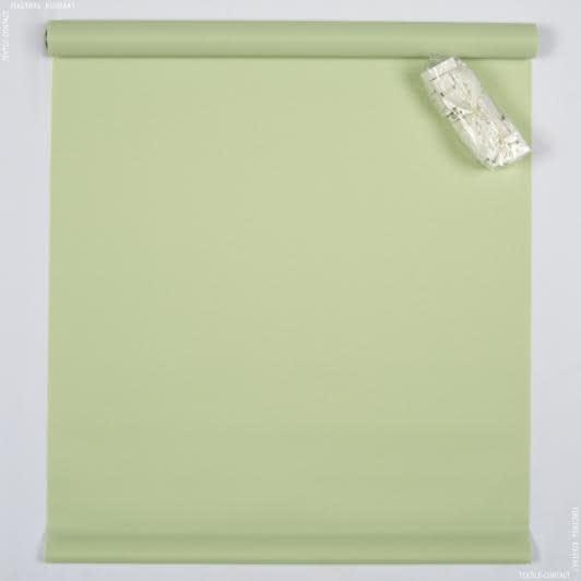 Тканини ролети - Роллет міні гладкий палево-зелений  98х150