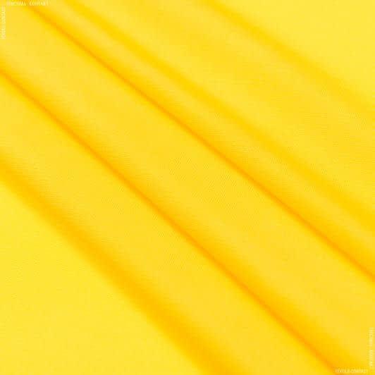 Тканини для суконь - Трикотаж масло жовтий