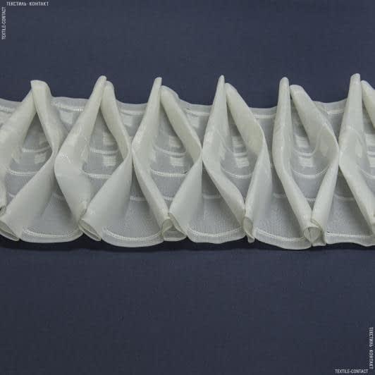 Ткани фурнитура для дома - ТЕСЬМА ШТОРНАЯ КС-1:2.5 170мм±0.5мм/50м матовая Соты крупные