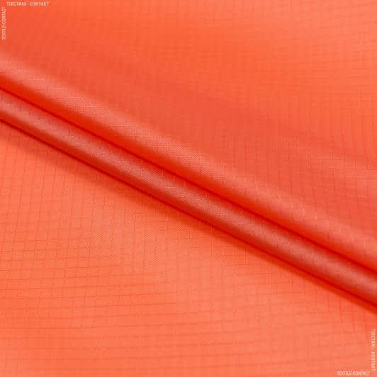 Тканини для спортивного одягу - Ріп-стоп курточний помаранчевий