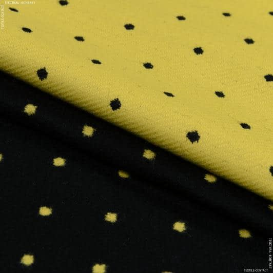 Тканини для верхнього одягу - Пальтова в горохи