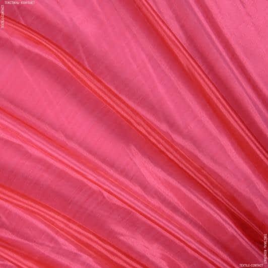 Ткани для костюмов - Органза кристалл светлая вишня