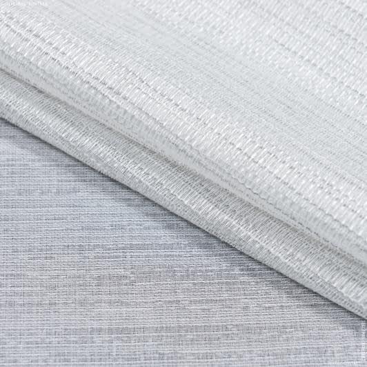 Ткани для тюли - Тюль с утяжелителем  рабат купон /rabat  молочный, серый