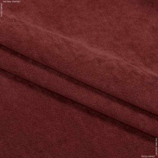 Ткани для мебели - Велюр будапешт/budapest т.терракот