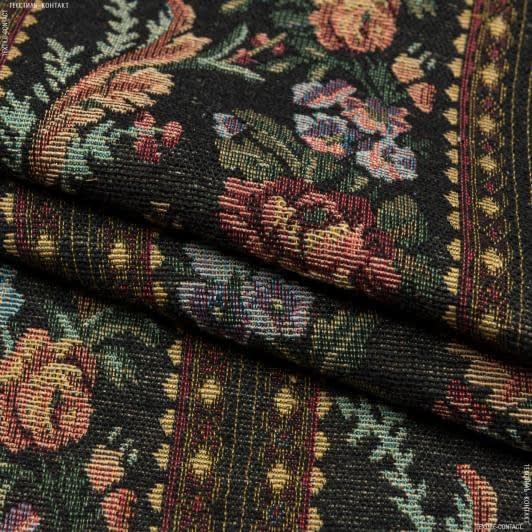 Ткани для декоративных подушек - Гобелен розы монфорт