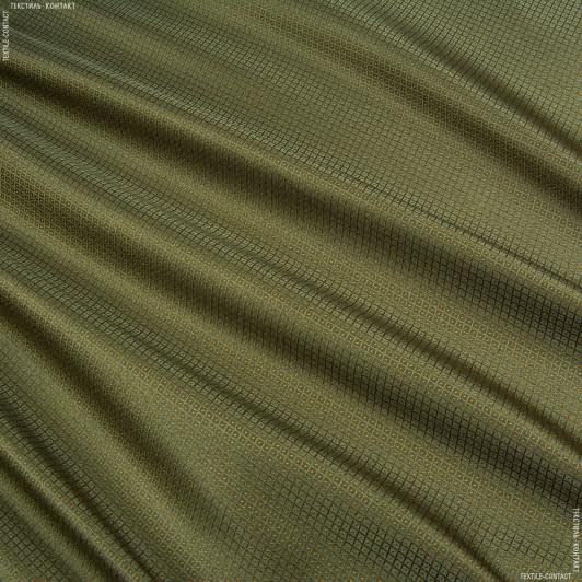 Ткани портьерные ткани - Портьера Нури компаньон ромбик мох