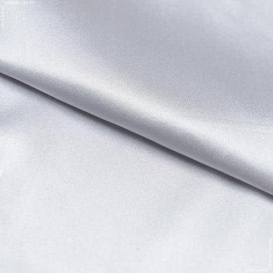 Ткани для белья - Атлас стрейч серый