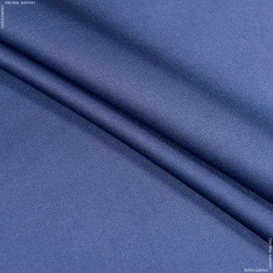 Тканини для білизни - Атлас стрейч індіго