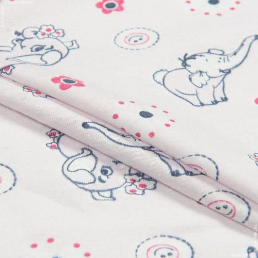 Тканини для дитячого одягу - Кулірне полотно принт