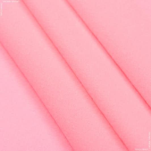 Ткани для кукол - Велюр-липучка розовый