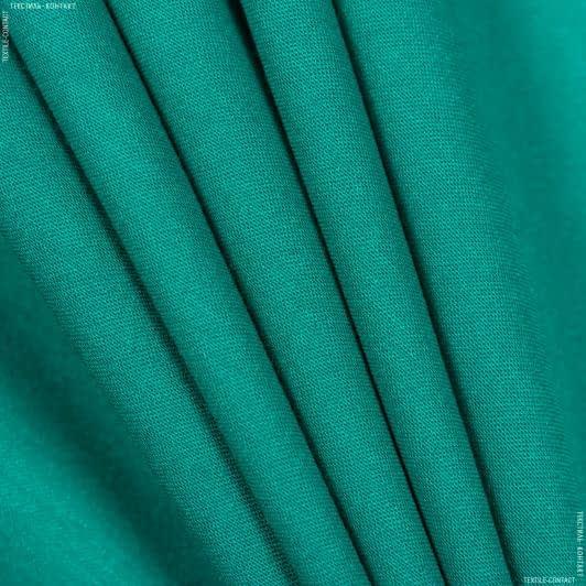 Ткани для костюмов - Костюмный сатин изумрудный