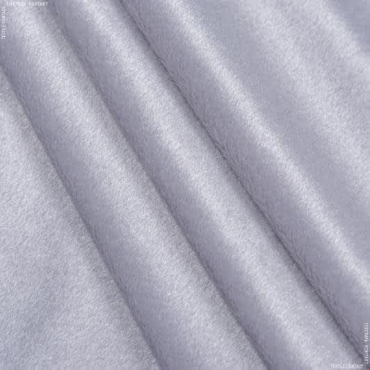 Тканини для дитячого одягу - Велюр світло-сірий