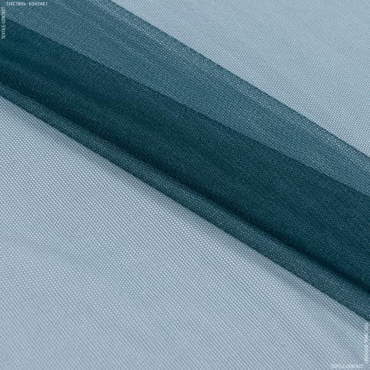 Ткани для платьев - Фатин изумрудный