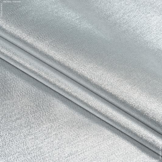 Ткани парча - Парча голограмма серебро