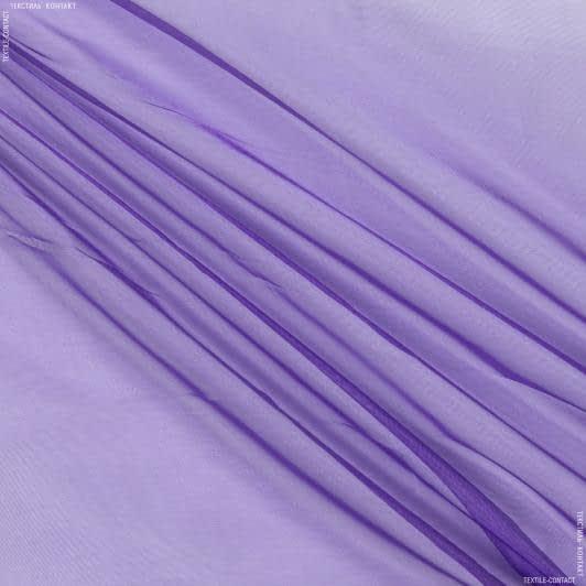 Тканини для суконь - Органза фіолетовий