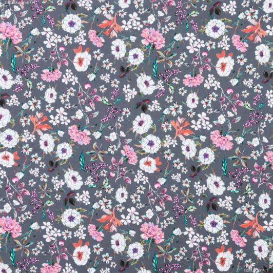 Тканини для хусток та бандан - Платтяно-блузочний сатин принт