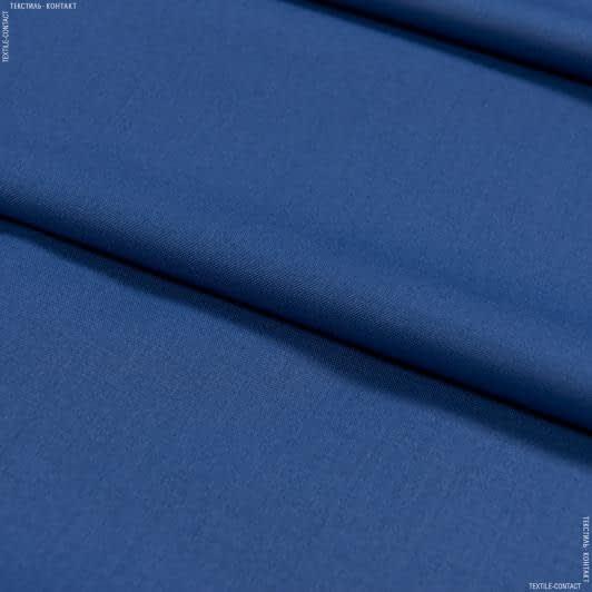 Тканини для костюмів - Костюмна віскоза parma волошковий