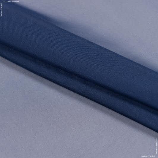 Ткани для платков и бандан - Шифон синий
