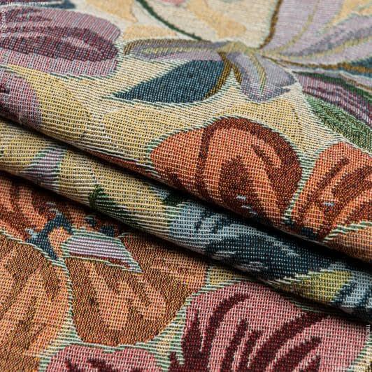 Тканини для декоративних подушок - Гобелен гава тон беж