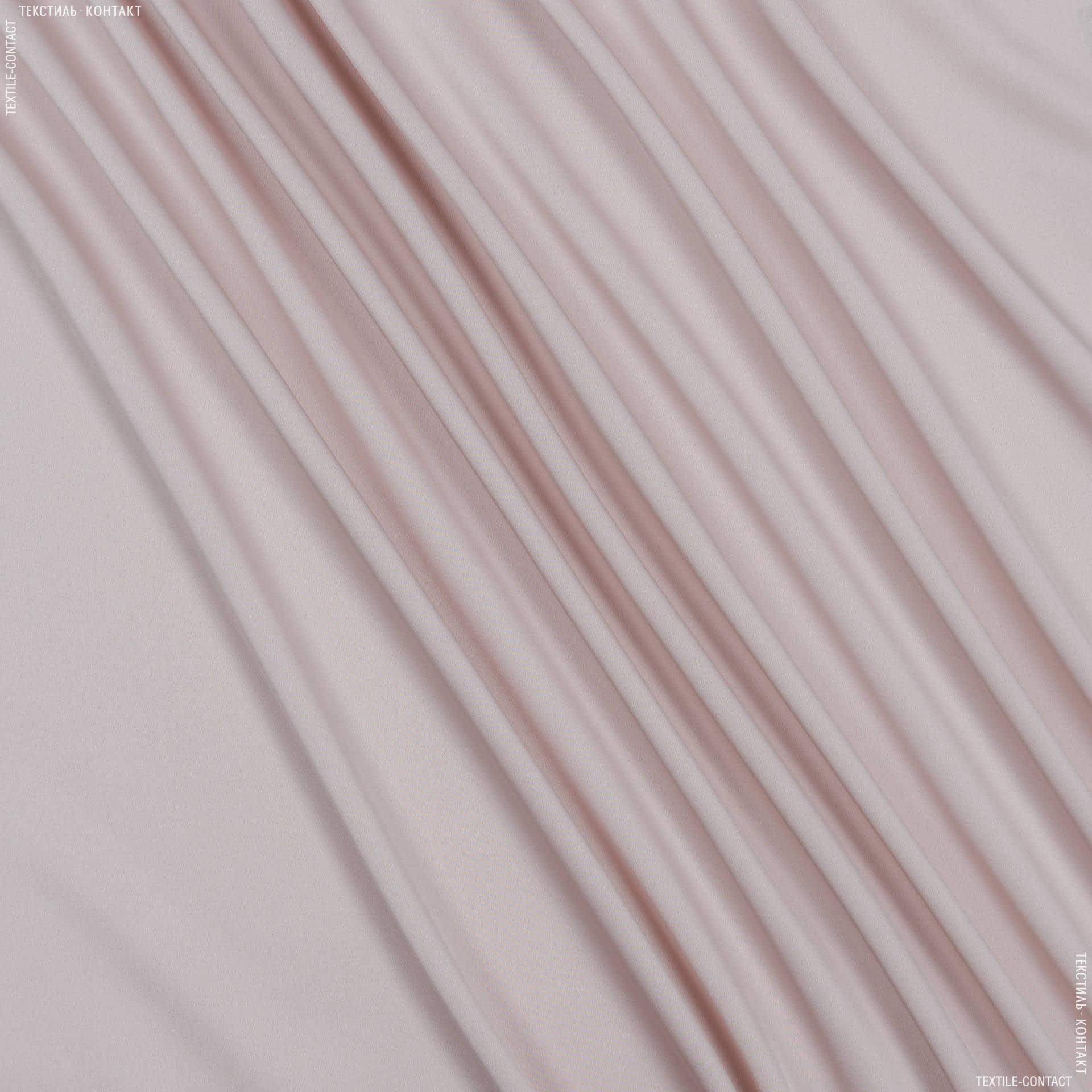 Ткани для платьев - Шелк стрейч матовый светло-персиковый