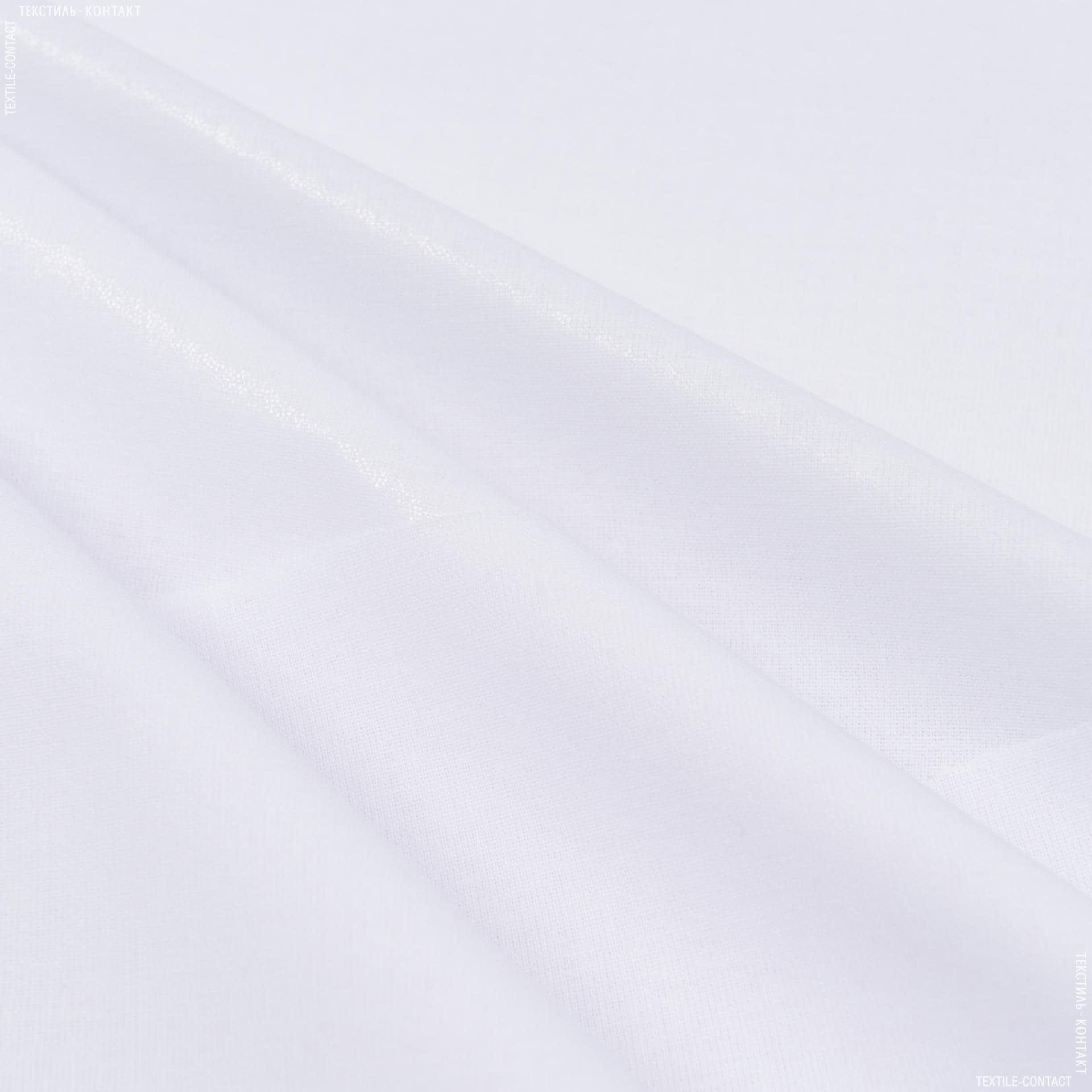 Тканини дублірин, флізелін - Бязь клейова білий 126г/м