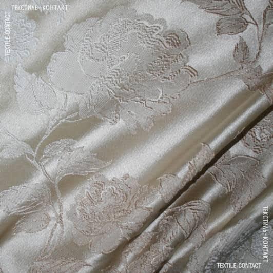Тканини для штор - Декор Сантана беж/св.беж