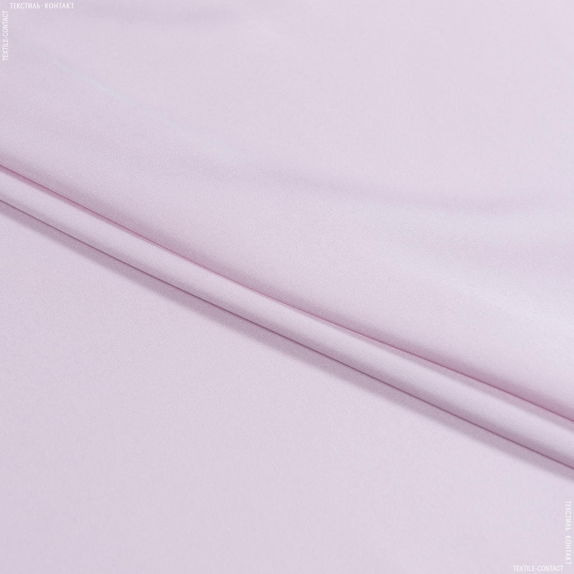 Ткани для платьев - Шелк стрейч матовый светло-розовый