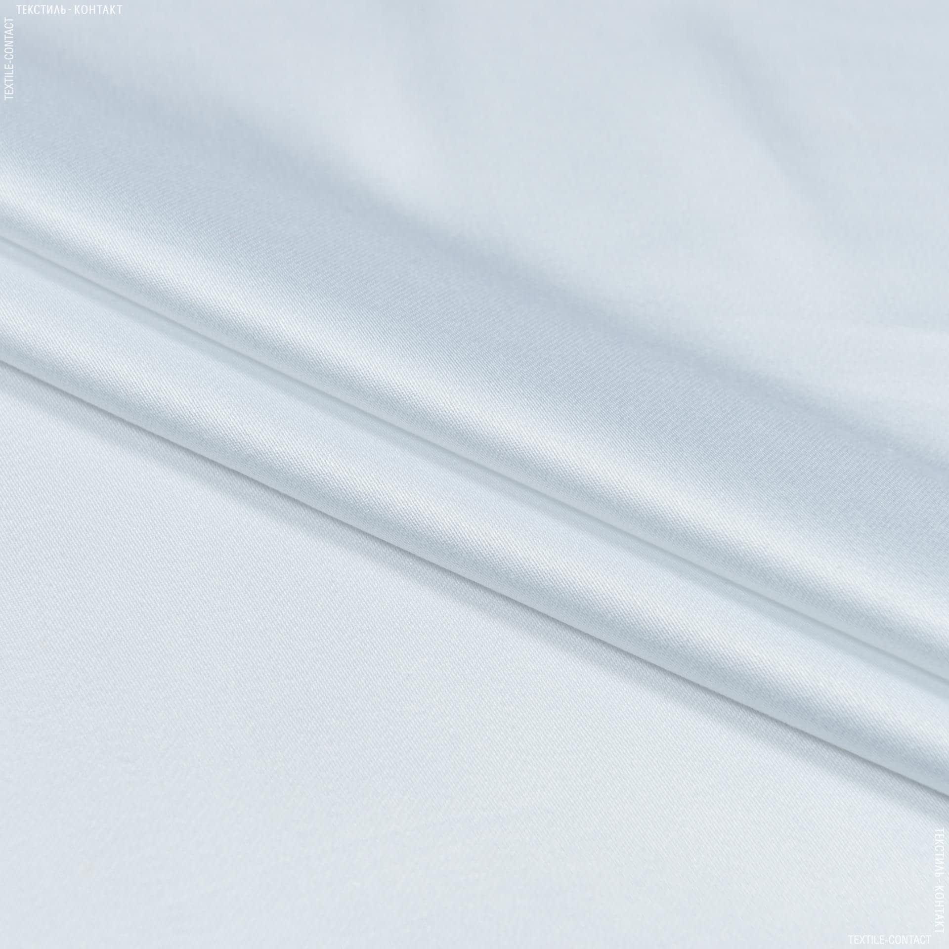 Тканини для костюмів - Костюмний сатин білий
