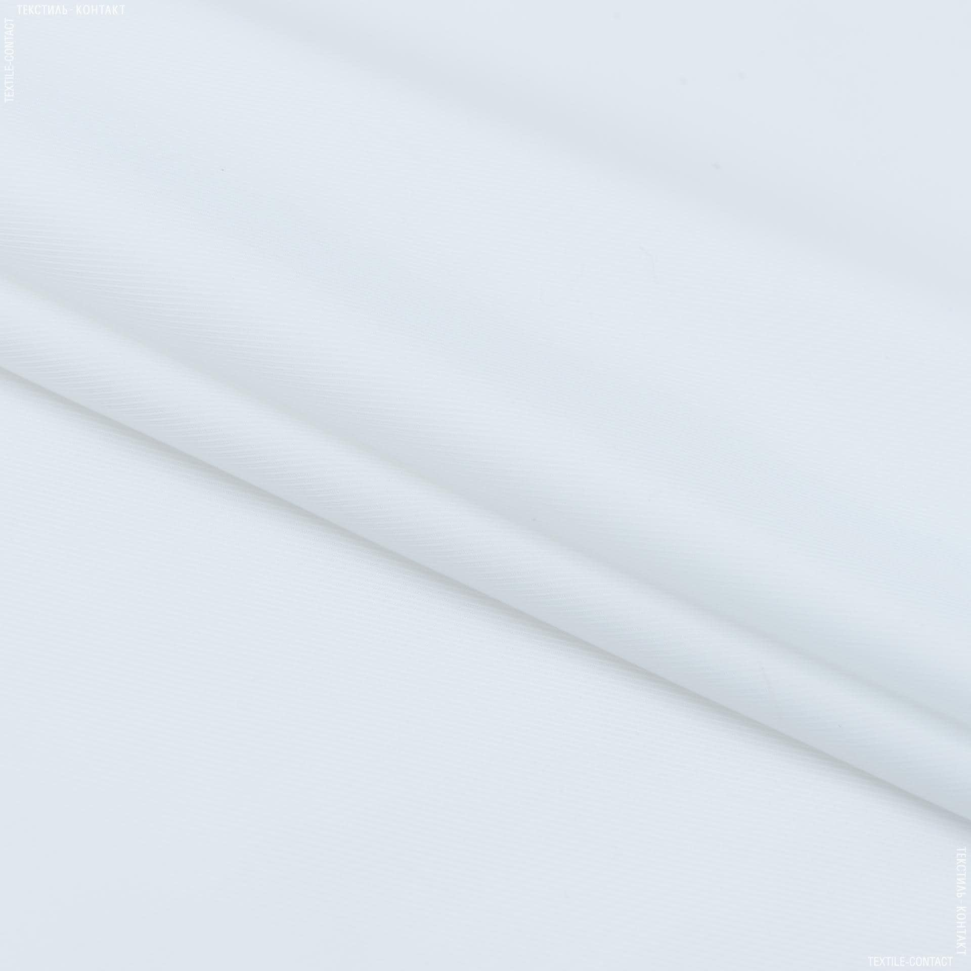 Тканини підкладкова тканина - Підкладкова діагональ білий