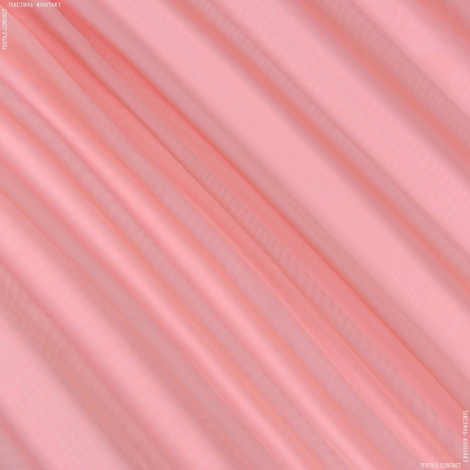 Ткани гардинные ткани - Тюль  вуаль розовый пион