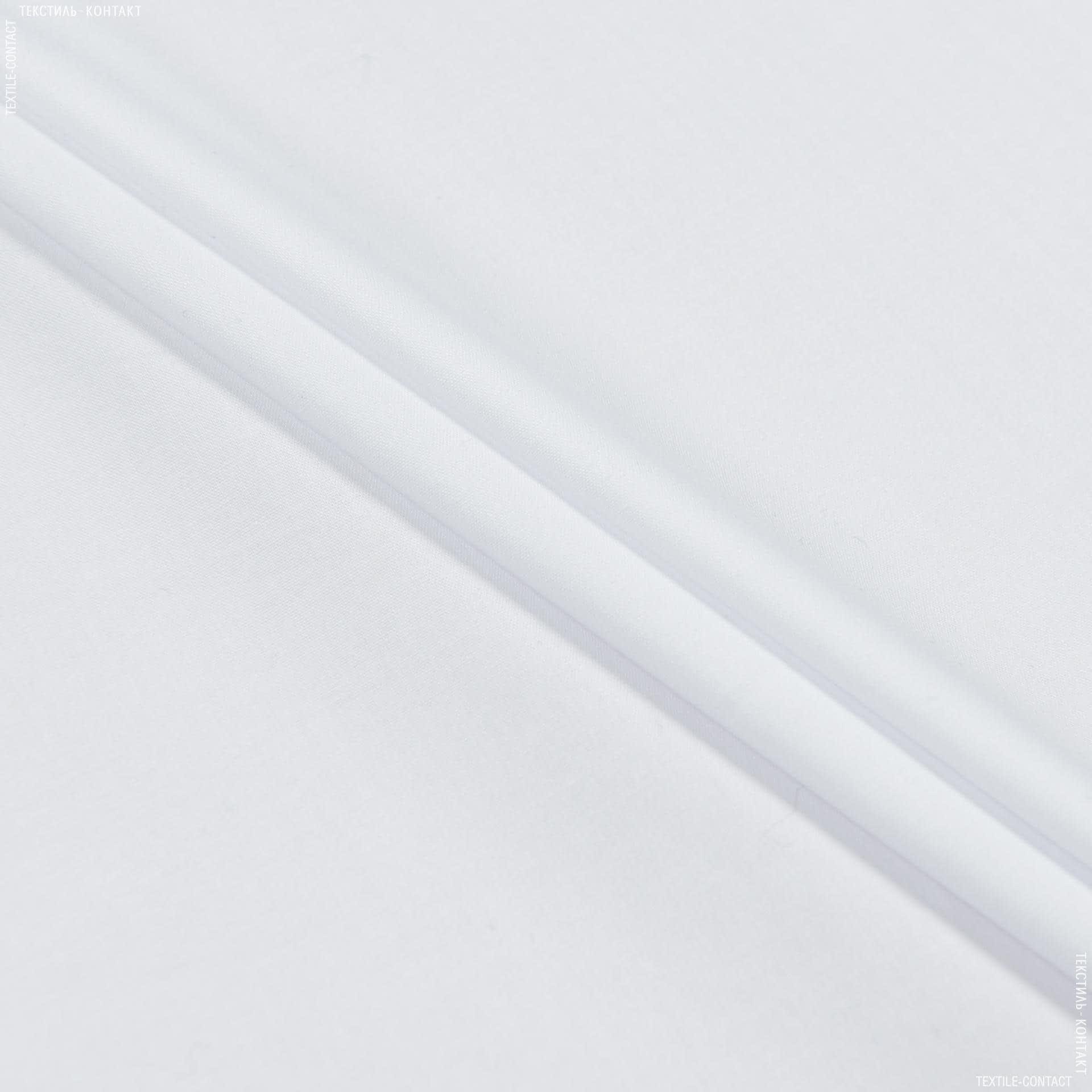 Ткани для платков и бандан - Сорочечная коттон белый