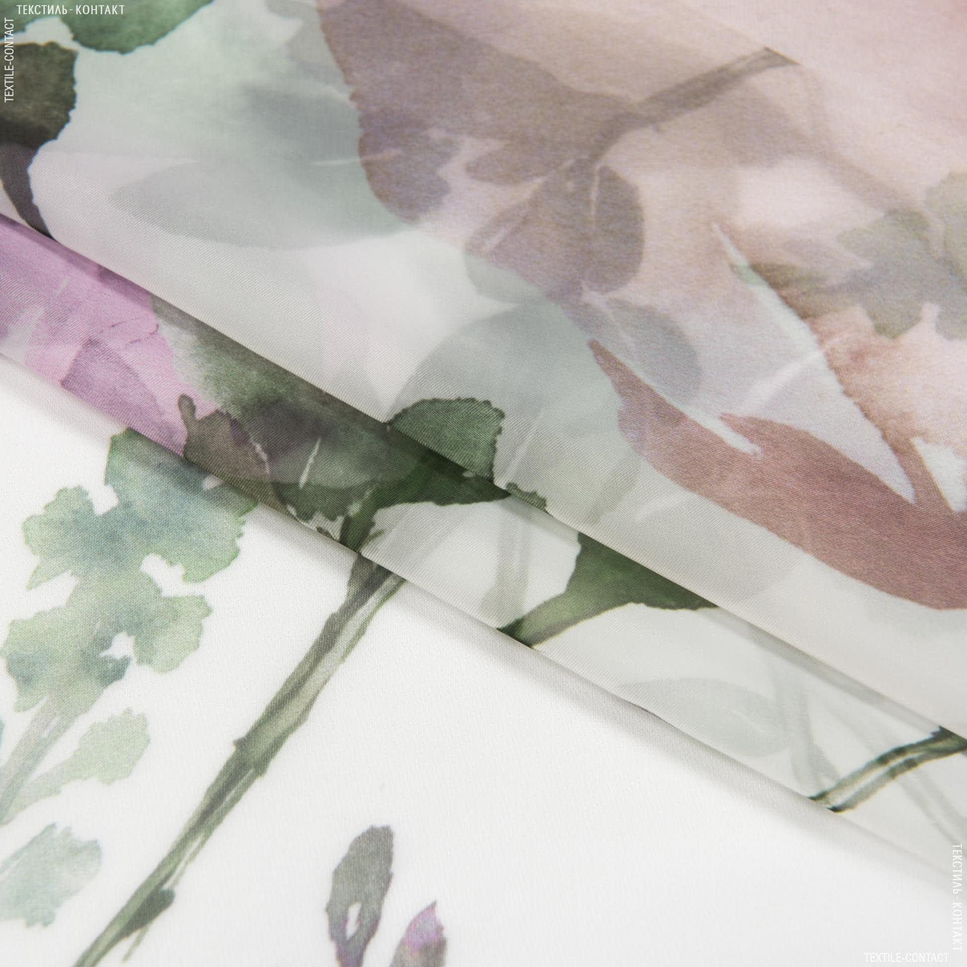Тканини для тюлі - Тюль вуаль з обважнювачем Валенсія / VALENCIA