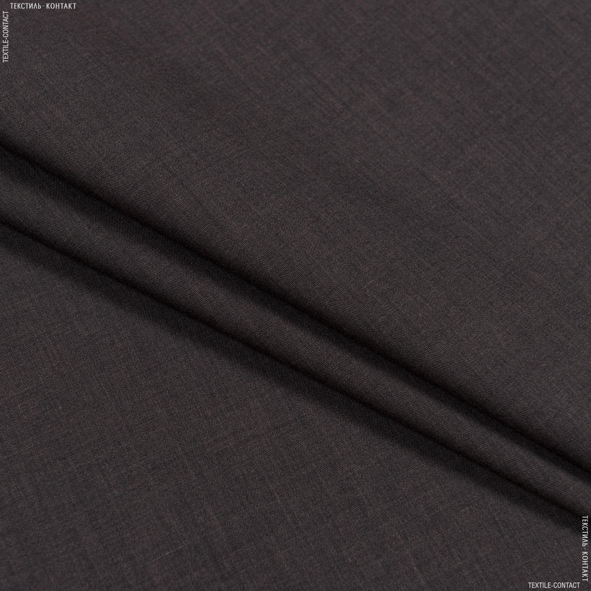 Тканини для суконь - Сорочкова меланж темно-коричневий