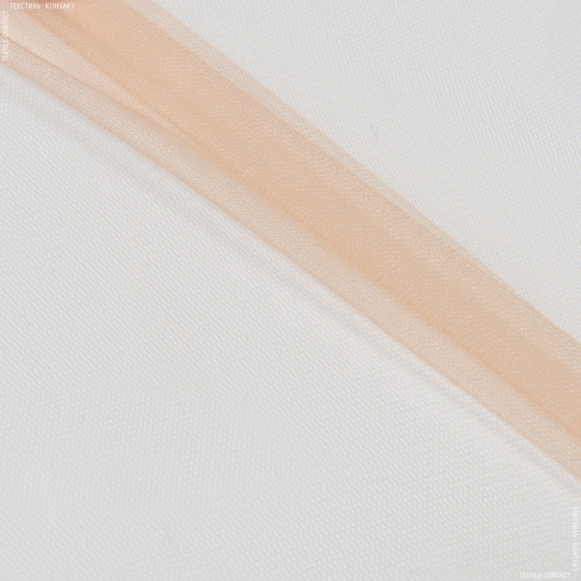 Тканини для блузок - Фатин м'який бежевий
