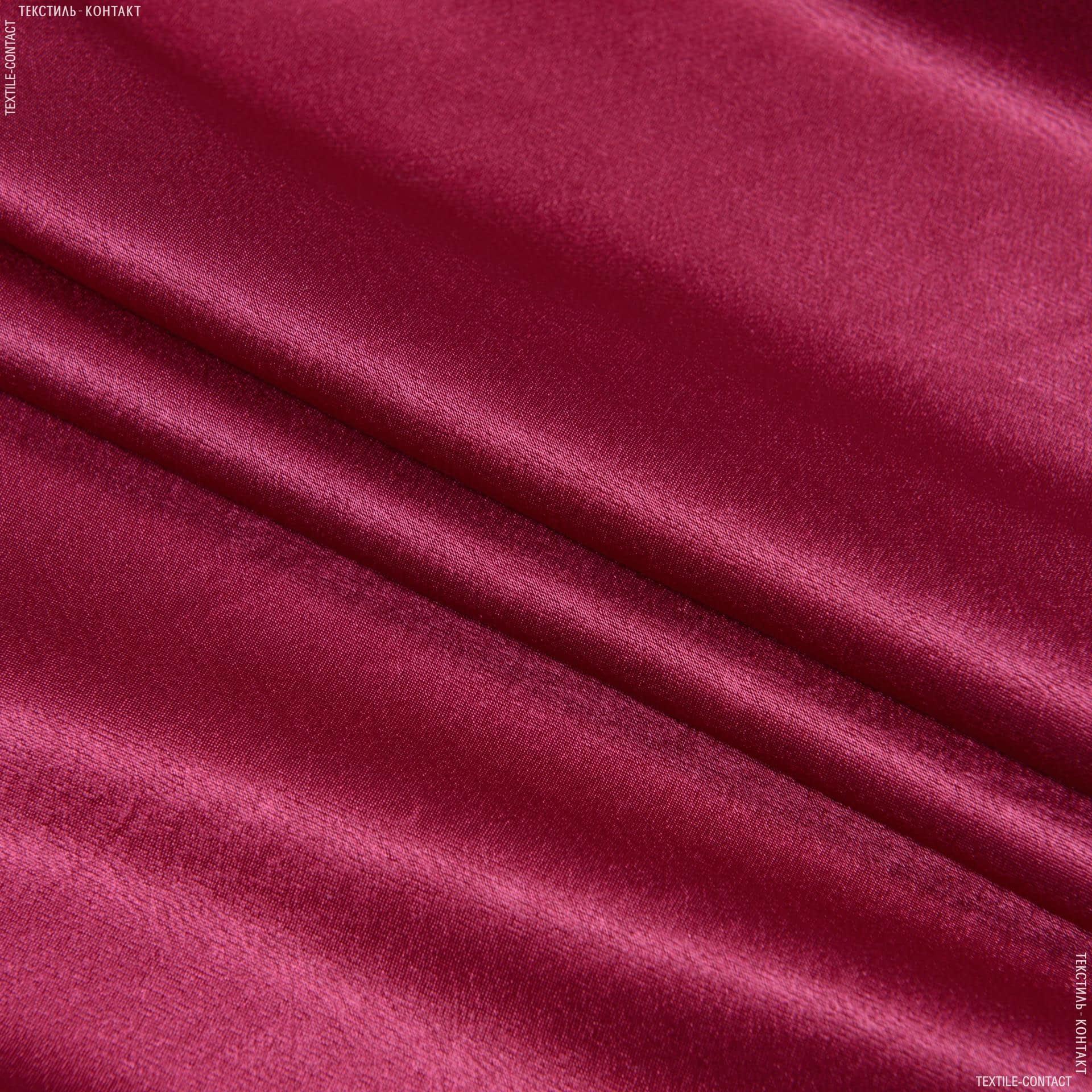 Тканини для банкетних і фуршетніх спідниць - Креп-сатин вишневий