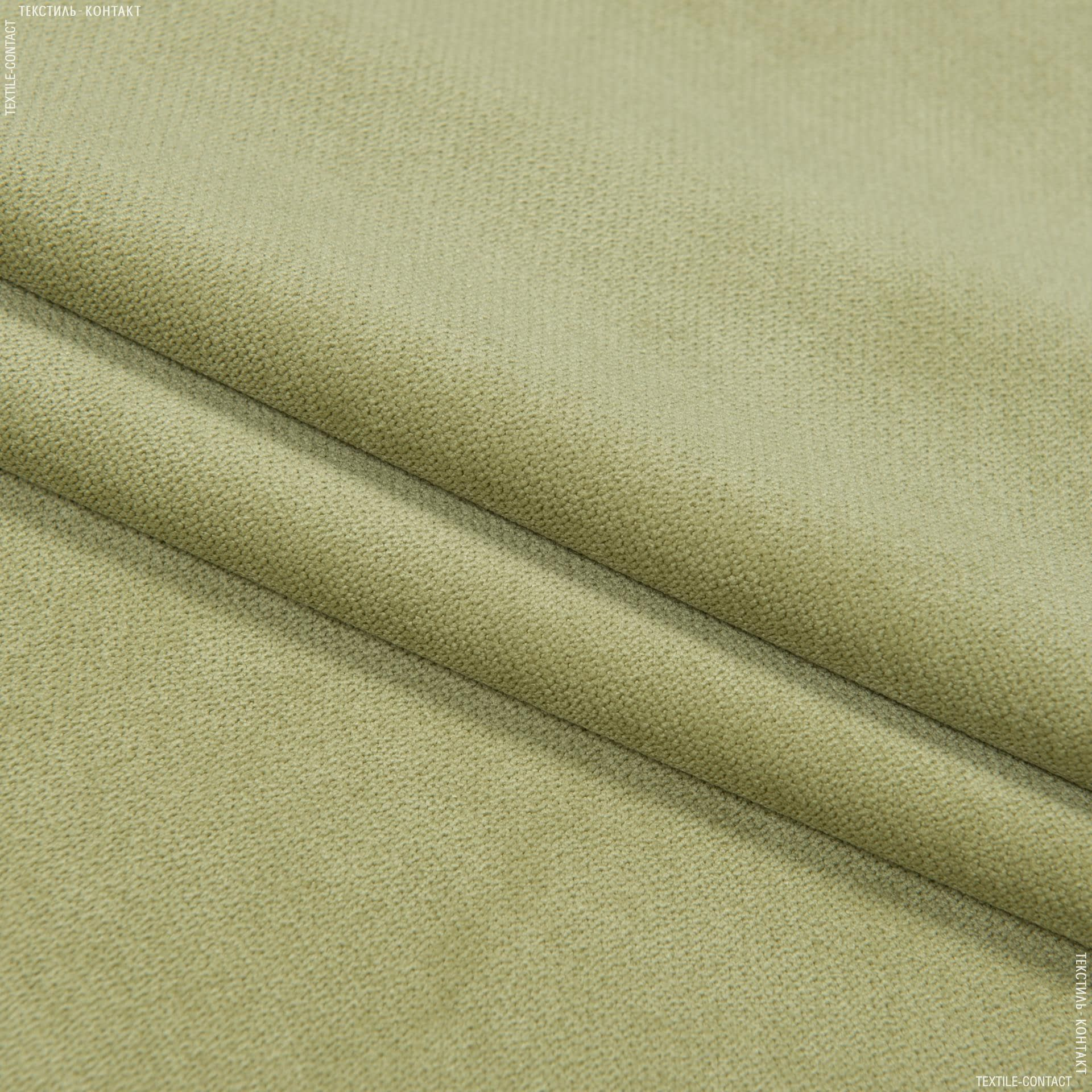 Ткани для мебели - Велюр будапешт/budapest  зеленая оливка