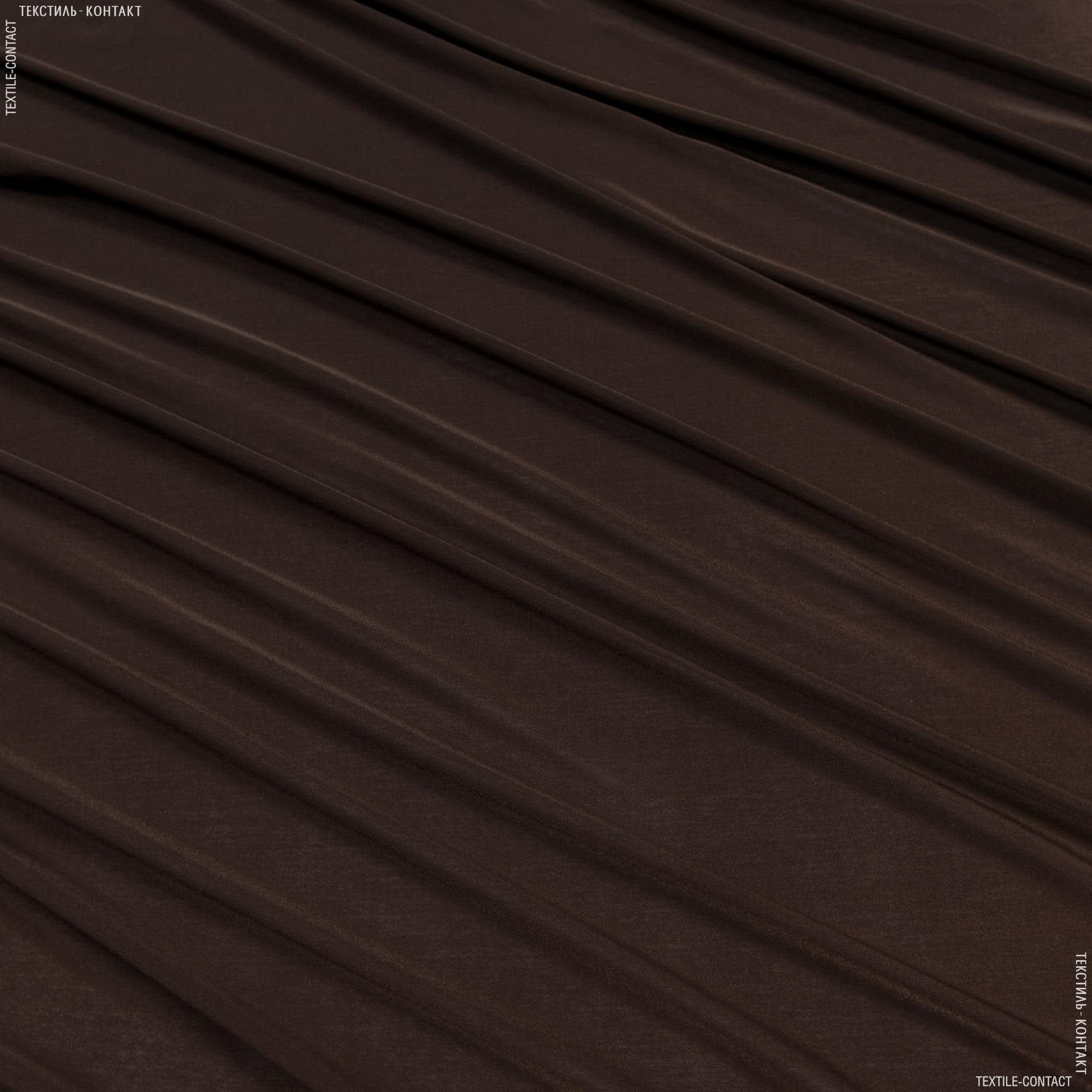 Ткани для платьев - Трикотаж масло коричневый