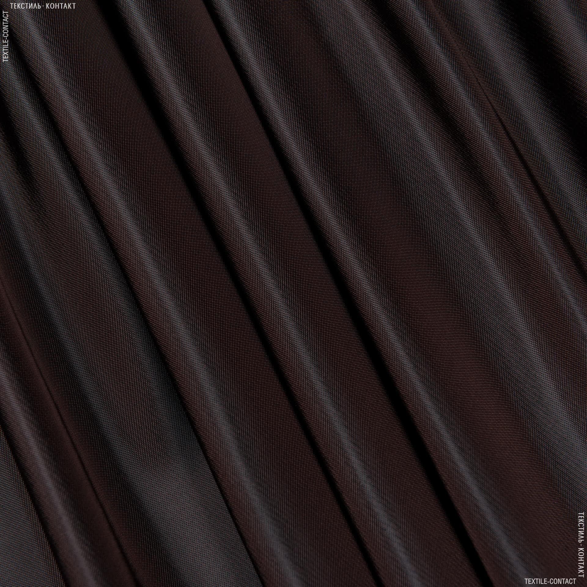Тканини підкладкова тканина - Підкладковий атлас коричневий