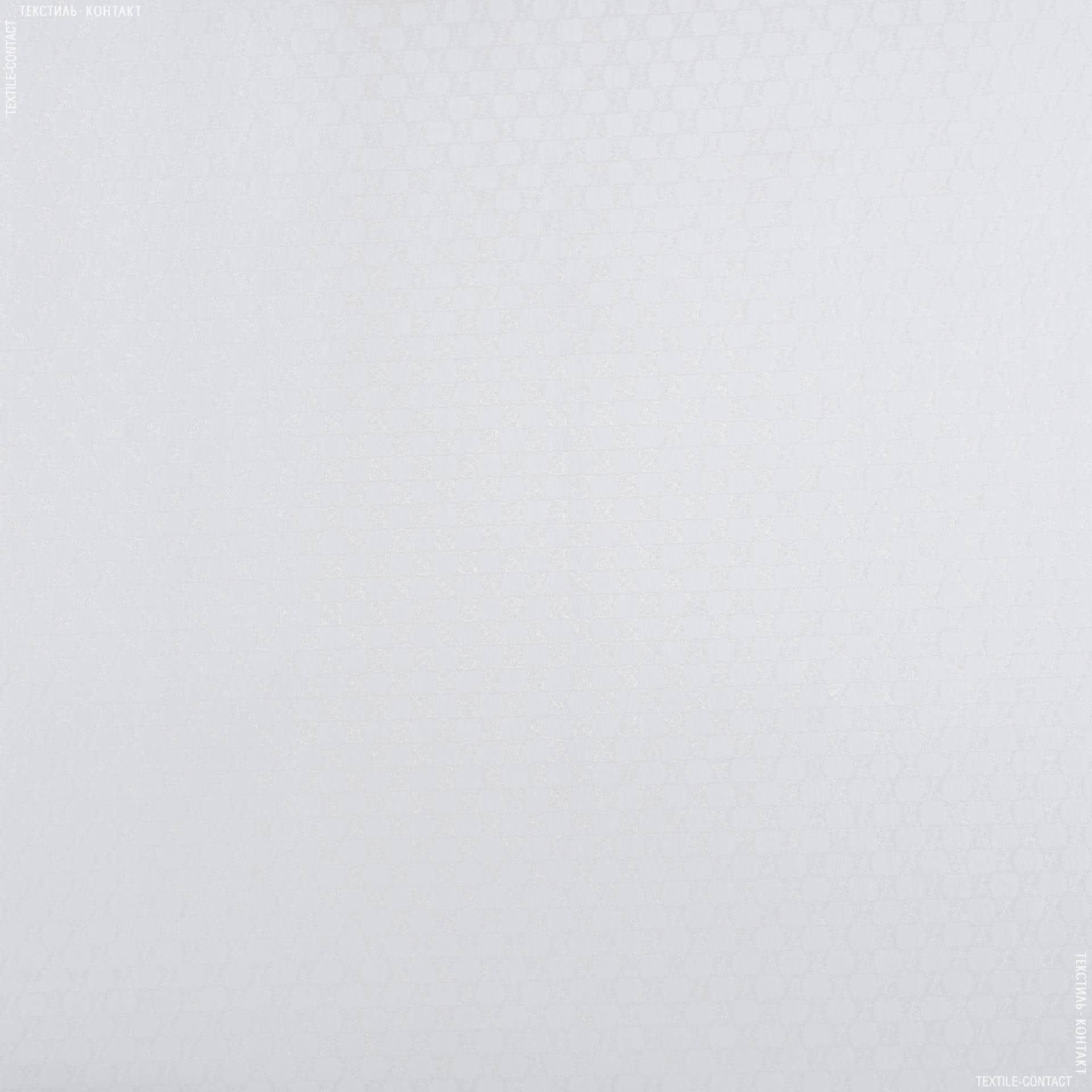 Тканини для суконь - Трикотаж гуччі прозорий білий