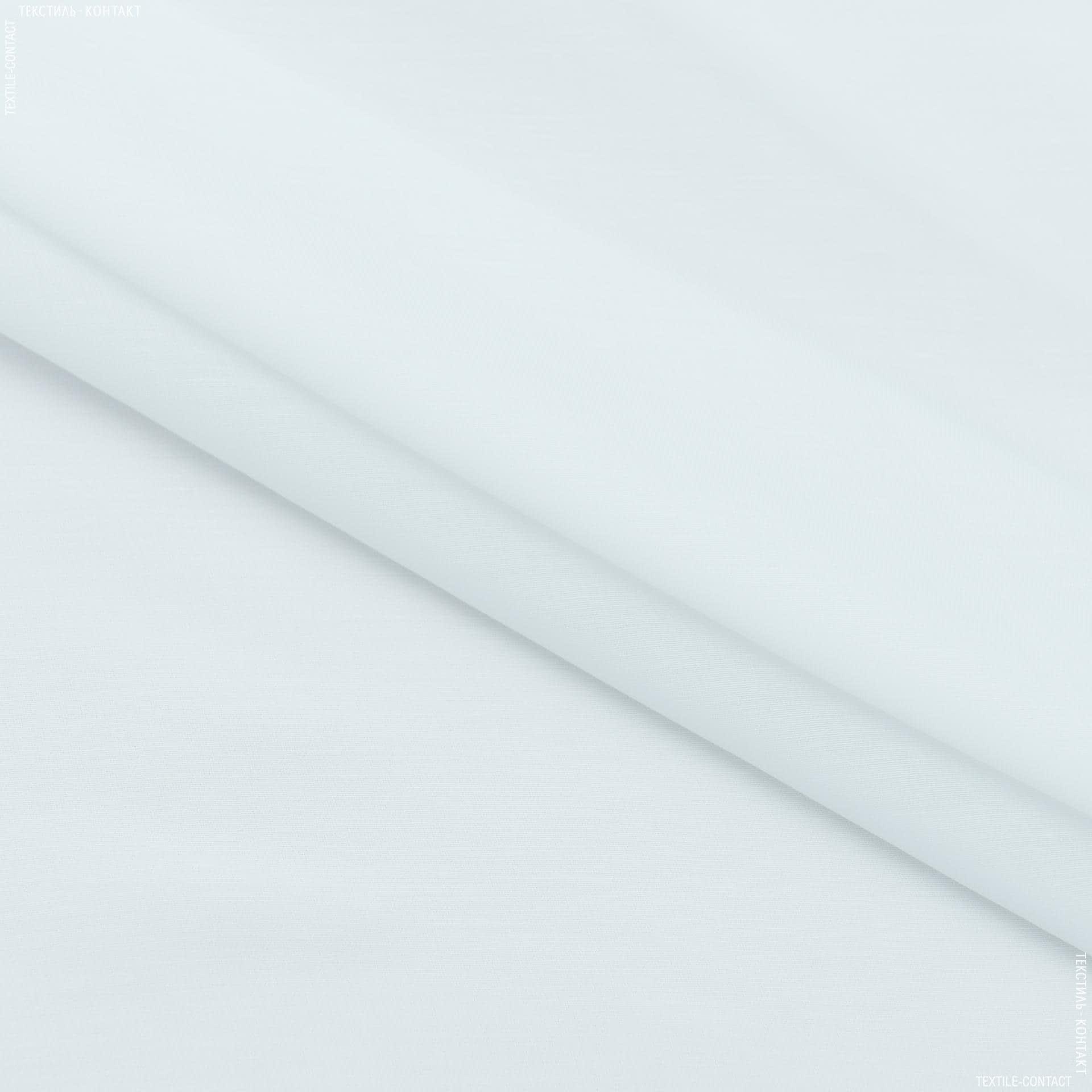 Ткани для драпировки стен и потолков - Тюль батист с утяжелителем лара белый
